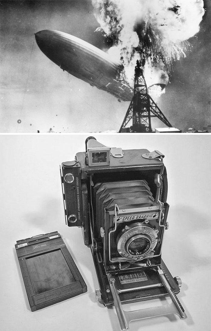Катастрофа дирижабля Гинденбург, Сэм Шир, 1937