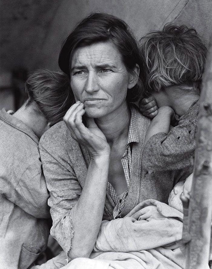 «Мама-мигрант», Доротея Ланж, 1936