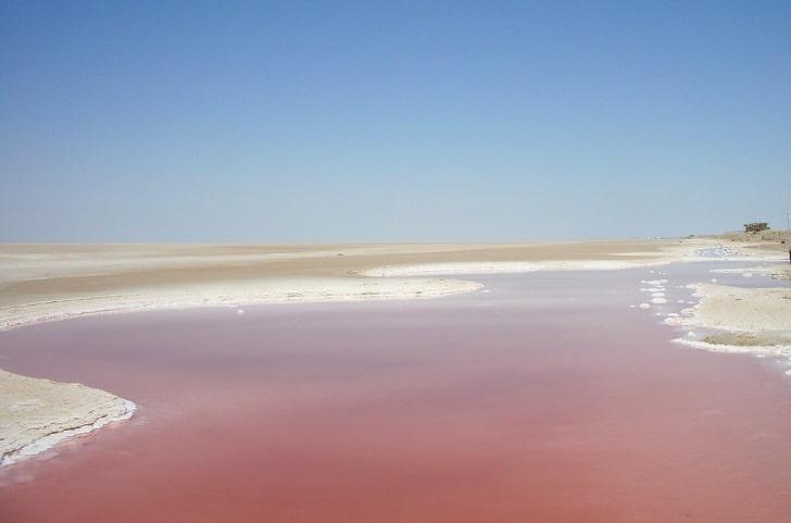 Озеро-солончак Эль-Джерид