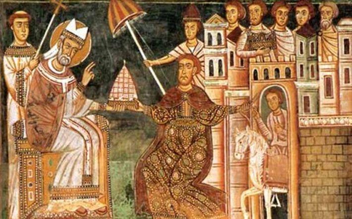 Пожертвование Константина