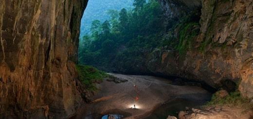 Путешествие по самой большой пещере в мире