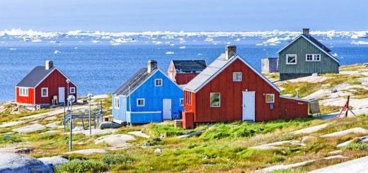 Самые наименее густонаселенные места в мире