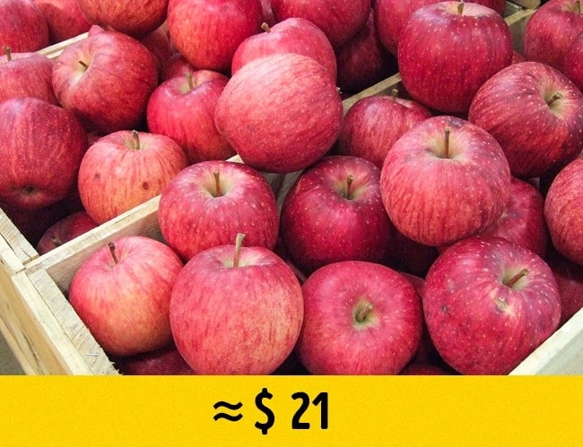 Яблоки Sekai Ichi
