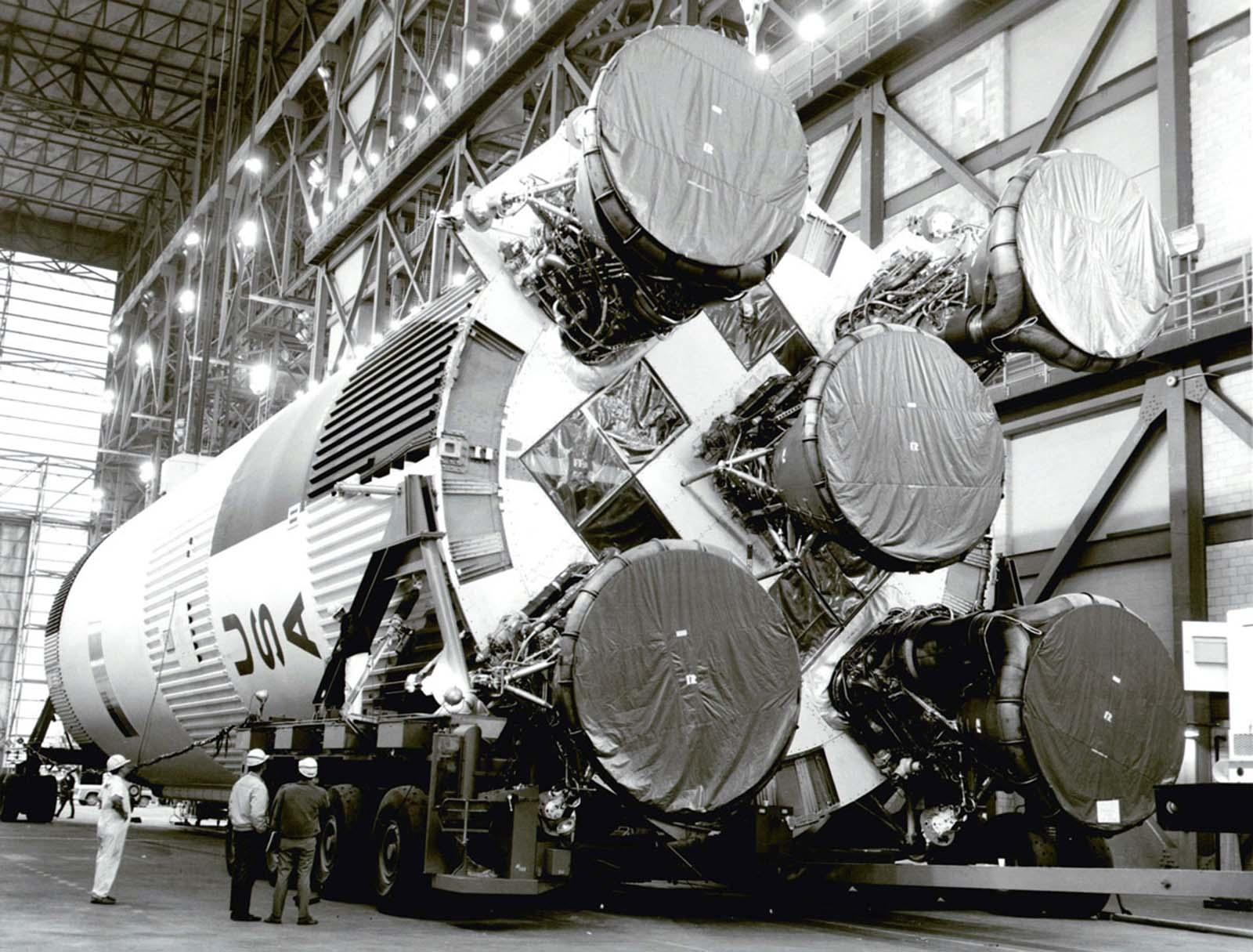ракета-носитель S-1C для Apollo 11 Saturn V
