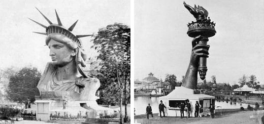 Статуя Свободы: редкие фото строительства символа свободы и демократии США