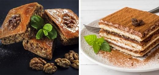 12 самых популярных десертов в мире