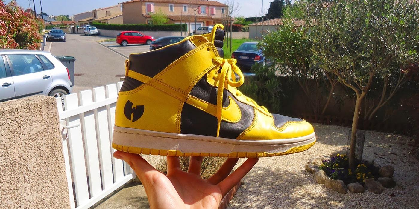 13. Nike Dunk High LE (Wu-Tang)