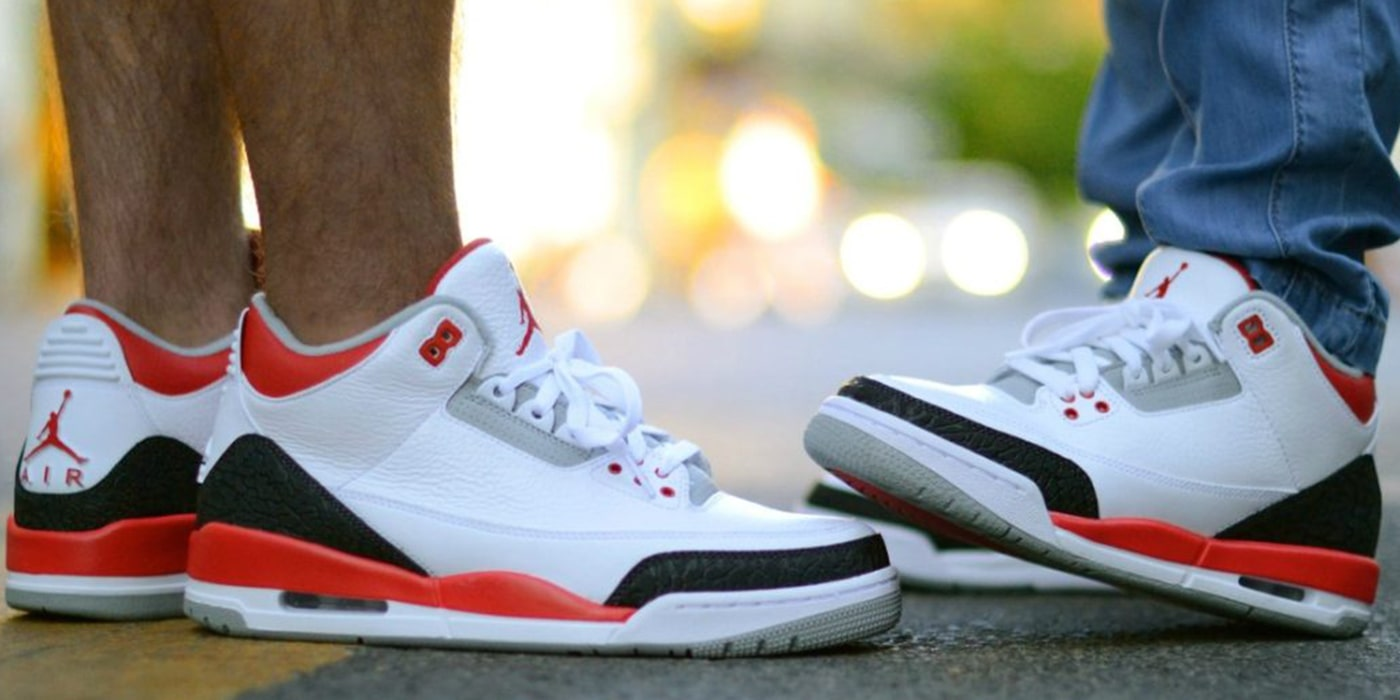 7. Air Jordan III Fire Red OG