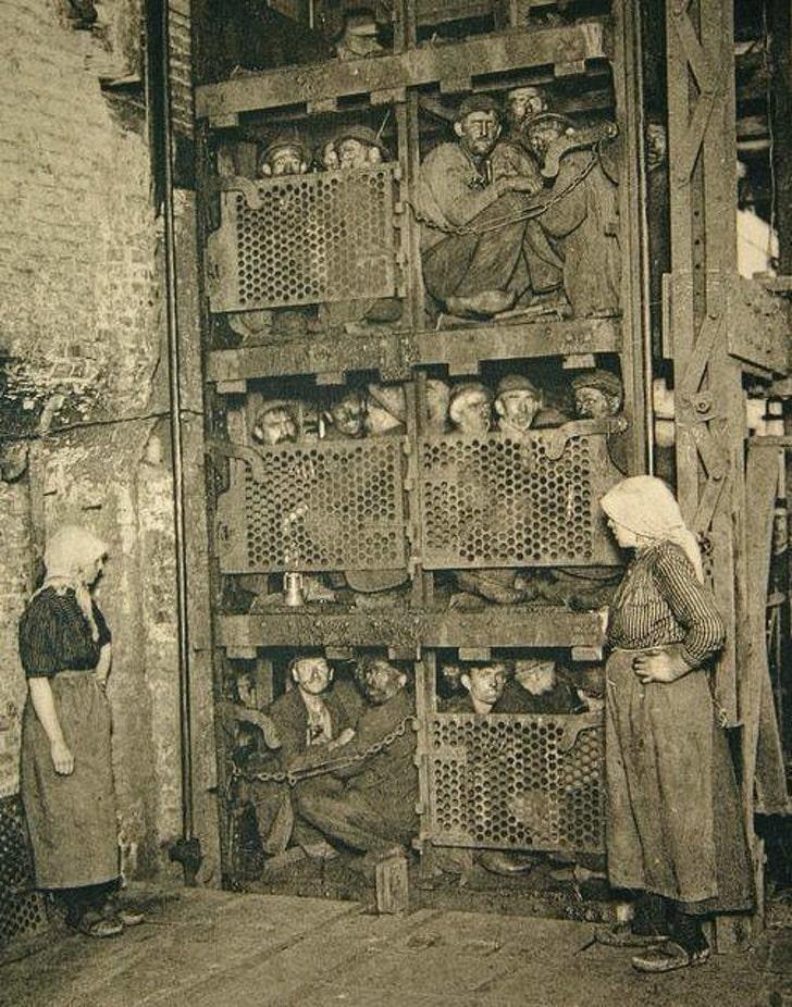 Бельгийские шахтеры