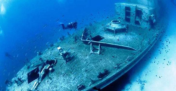 Дайвинг с исследованием обломков кораблей