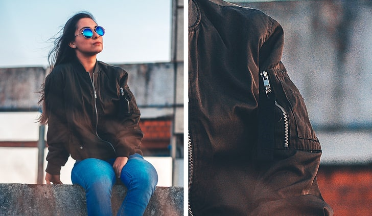 Как появился карман на рукаве куртки-бомбера