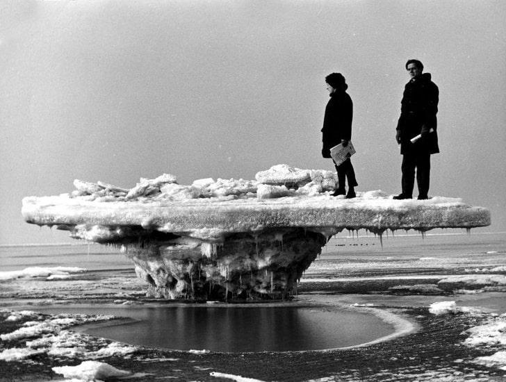 Ледяной «стол»