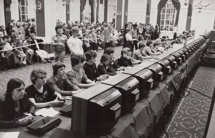 Национальный турнир США по видеоигре Space Invaders