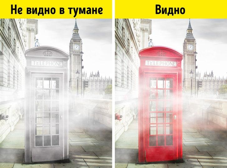Почему в Лондоне красные телефонные будки