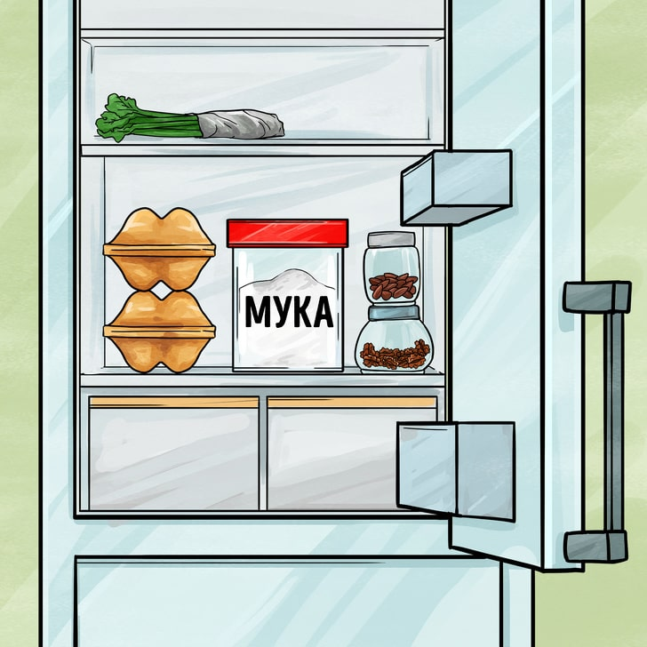 Продукты, которые лучше всего хранить в холодильнике