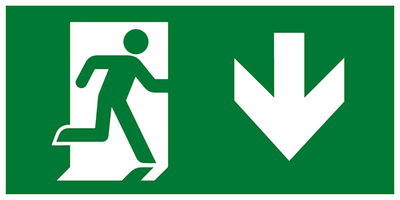 Знак выхода