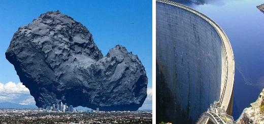 12 огромных объектов