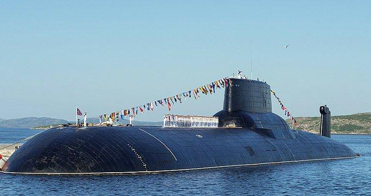 Подводная лодка класса «Тайфун»