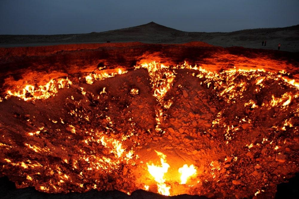 «Врата ада» в Туркменистане