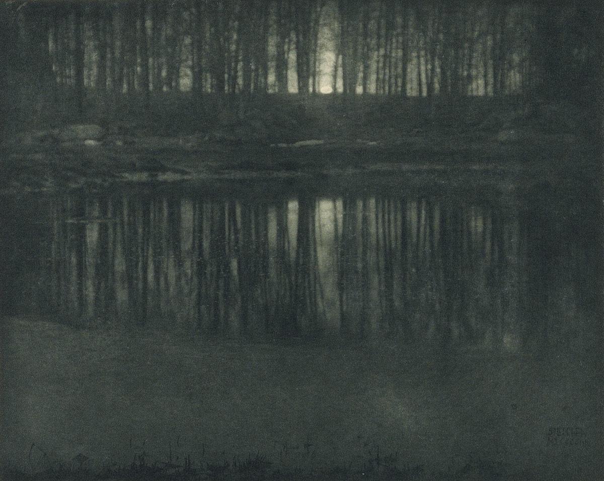 Эдвард Стайхен — «Озеро в лунном свете»