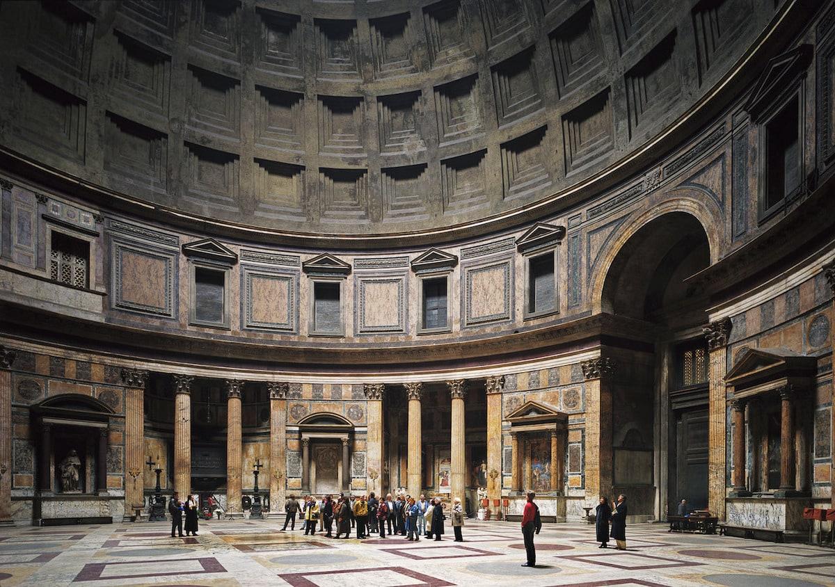 Томас Штрут — «Пантеон, Рим»