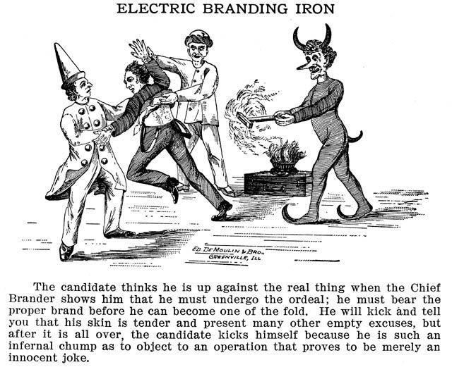 Электрическое клеймение железом