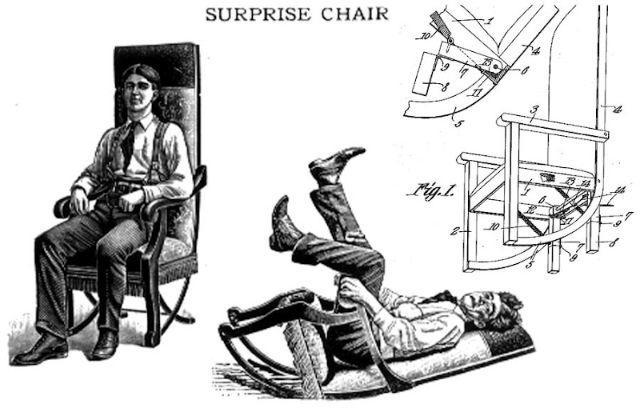 Кресло-сюрприз