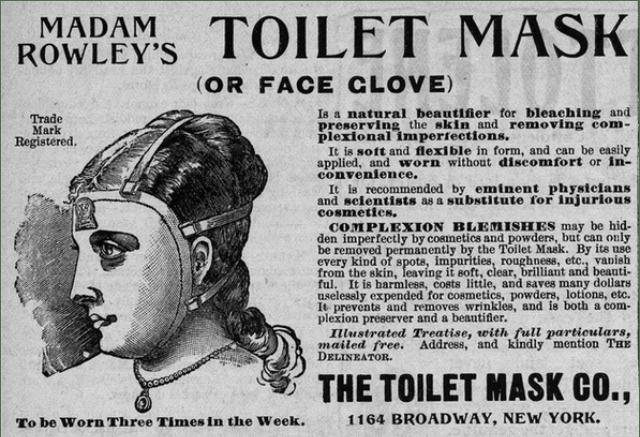 Туалетная маска мадам Роули