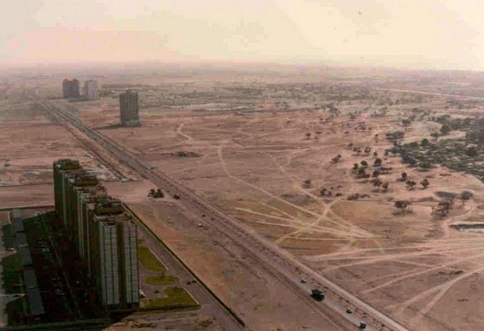 Дубай в 80-е годы XX века