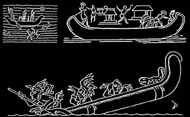 майя были мореплавателями