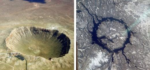 11 самых больших кратеров на Земле