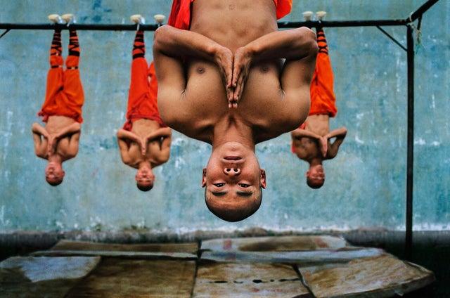 Обучение монахов Шаолинь