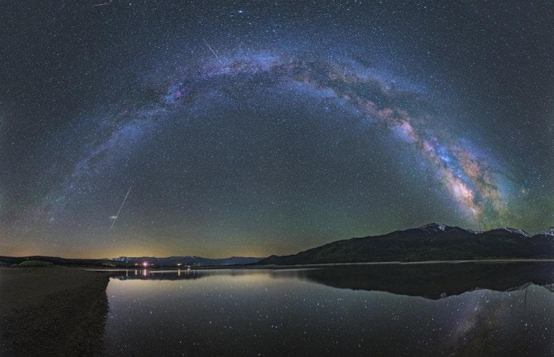В Китае Млечный Путь называют «Серебряная река»
