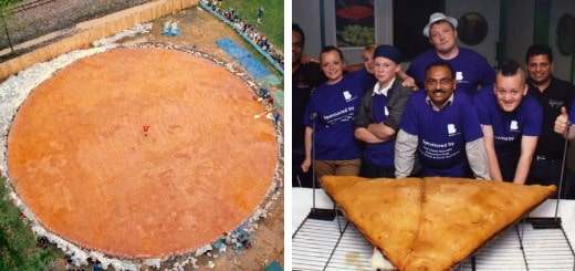 самые большие порции еды в мире