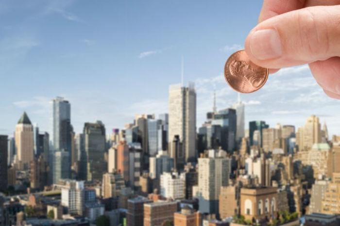 Монетка, сброшенная с Эмпайр-стейт-билдинг