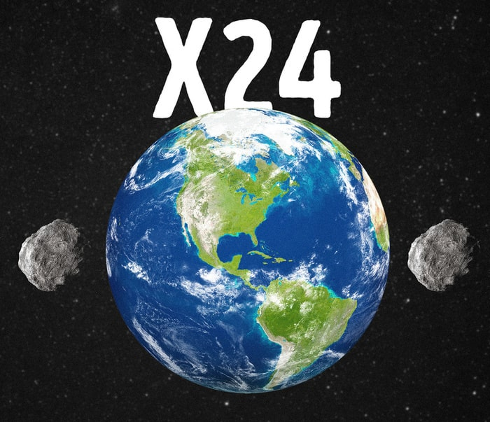 24 окружности Земли