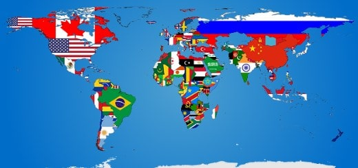 Численность населения по странам мира (2020 год)