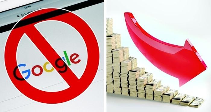 Google остановит работу