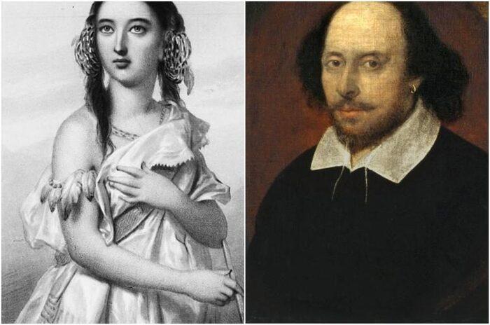 Принцесса Матоака с Уильямом Шекспиром