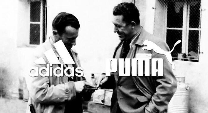 Основатели Adidas (Адольф Дасслер) и Puma (Рудольф Дасслер)