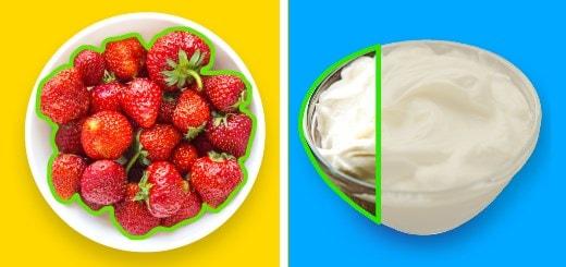 Как выглядят 100 калорий в популярных продуктах питания