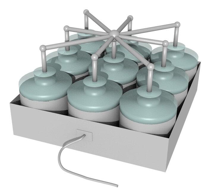 Батарея Лейденских банок