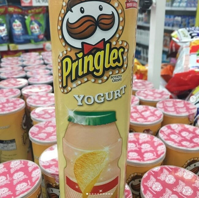 чипсы Pringles
