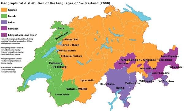 факты о Швейцарии