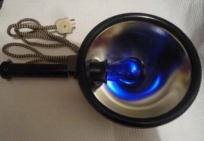 Лечение синей лампой - обязательно