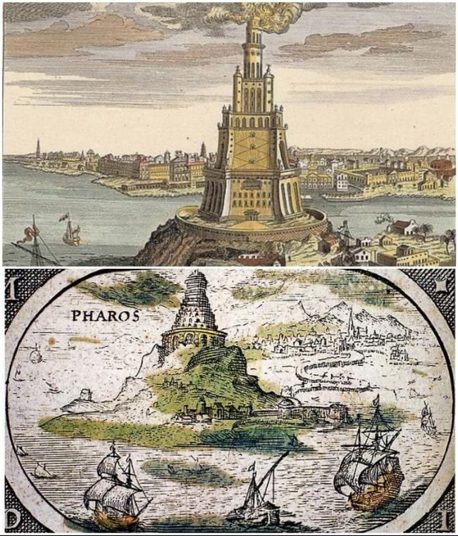 Александрийский маяк в Фароссе