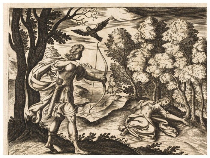 Аполлон убил Корониду