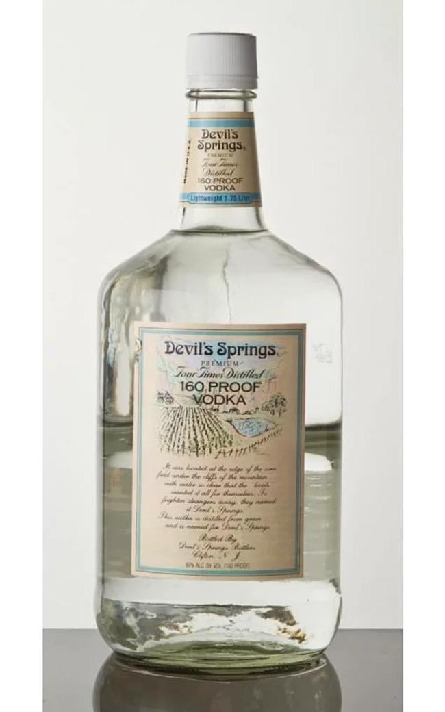 10. Водка Devil Springs (80% Alcohol)