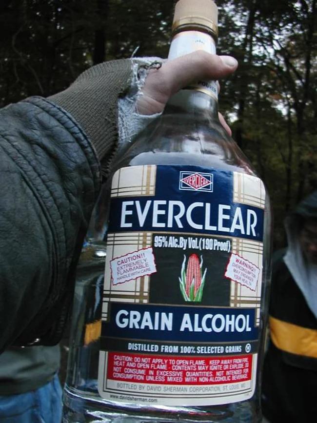 2. Everclear (95% Alcohol)