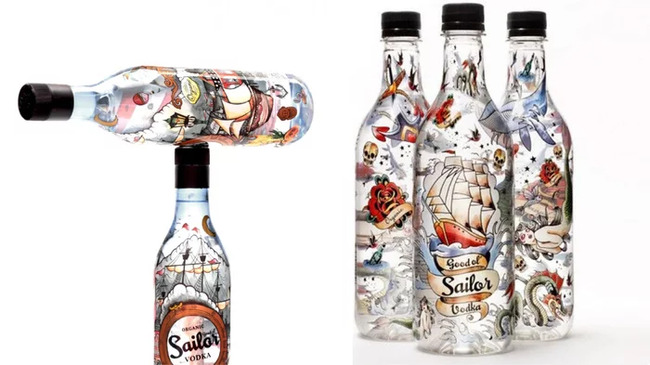 8. Good ol' Sailor Vodka (85% Alcohol)